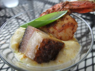 Grits with Spicy Shrimp & Pork Belly | by swampkitty