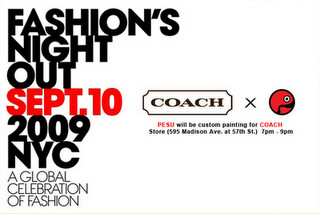 PESU x COACH @ Fashion's Night Out 2009 | by OSE (Old-Soulz Ent. Inc)