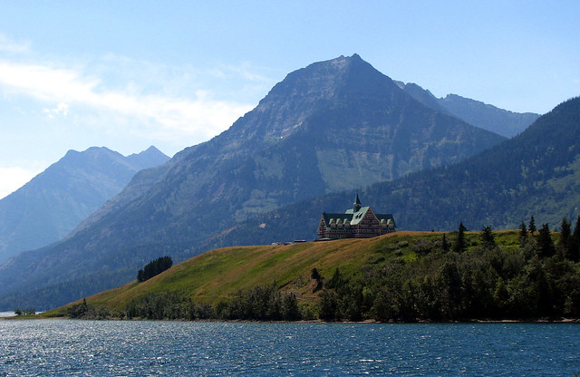 Waterton-Glacier International Peace Park - Prince of Wales Hotel