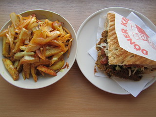 Voner Sandwich and Special Chips | by veganbackpacker