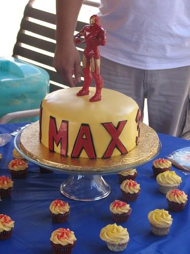 Iron Man Birthday Cake Pan