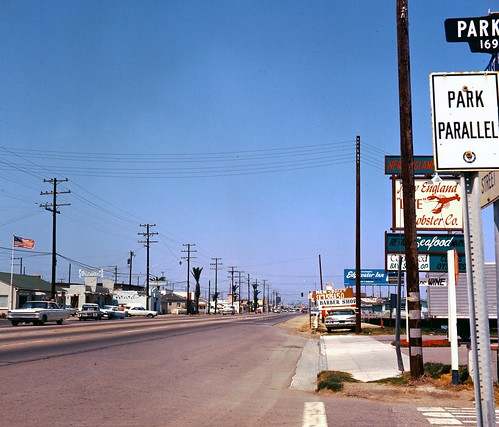 Pacific Coast Highway, Sunset Beach, 1966 | by Orange County Archives