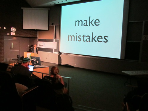 make mistakes | by m.gifford