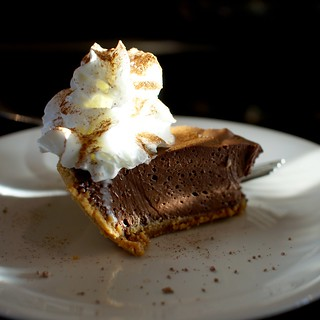 Dark chocolate-agave cream pie | by uıɐɾ ʞ ʇɐɯɐs