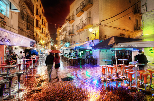 A Rainy and Romantic Night in Ibiza | by Stuck in Customs