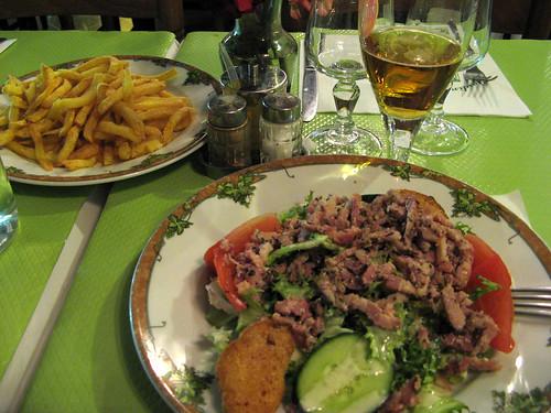 Paris jardin notre dame restaurant flickr photo sharing for Restaurant paris jardin