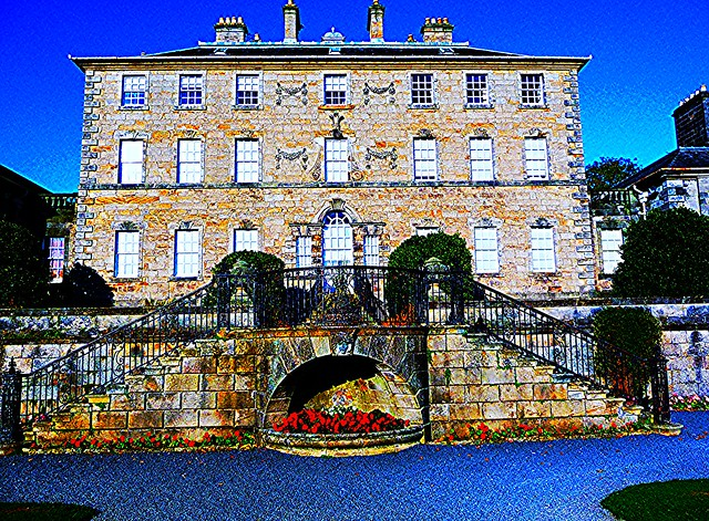 Pollok House, Glasgow, Scotland.