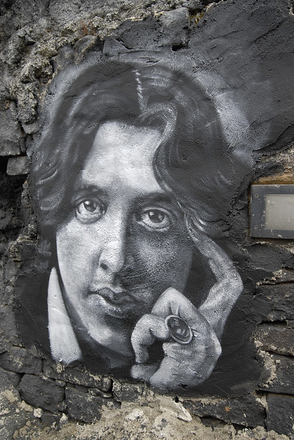Oscar Wilde painted portrait _DDC0268