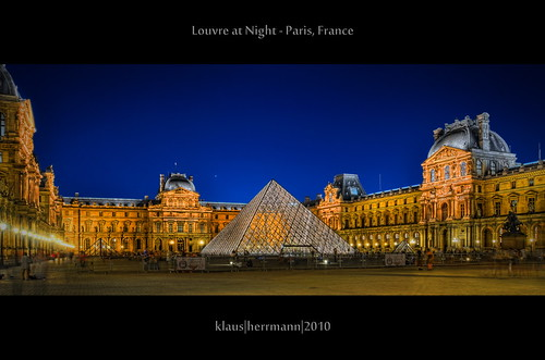 Louvre at Night - Paris, France (HDR) | by farbspiel