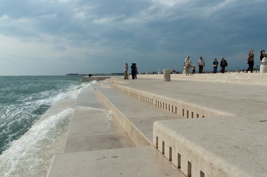 Zadar: Mořské varhany