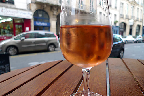 rosé on the street | by David Lebovitz