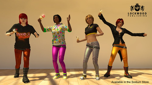 Lockwood in PlayStation Home: Ice Creams, Shimmery Jeans | by PlayStation.Blog