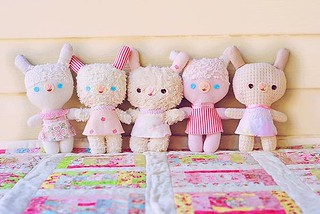 Fluffy stuffy bunnies | by Kelly Rachel