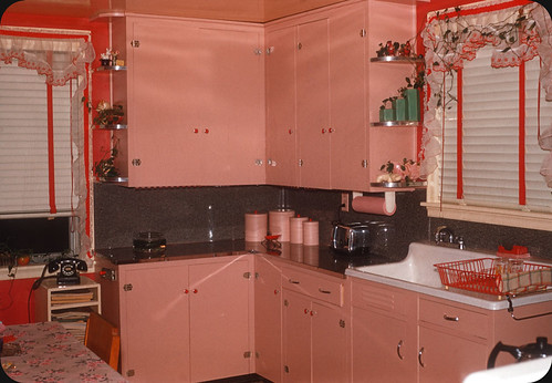 Pink Kitchen — 1956 | by ElectroSpark
