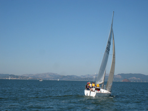 Another beautiful day out sailing on the Bay | by gserafini
