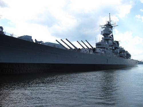 USS Wisconsin - Norfolk VA | by musegrrl25