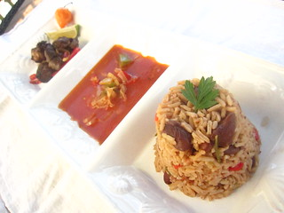 Haitian Griyo, sauce ti malice and rice n'beans | by SeppySills