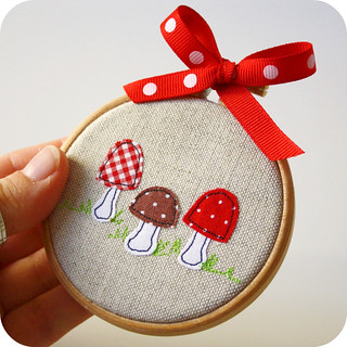 one more tiny hoop ornament... | by pilli pilli