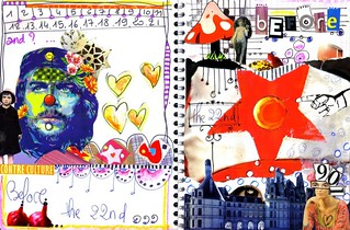 art-journal BEFORE THE 22nd - week 1 | by Francoise MELZANI