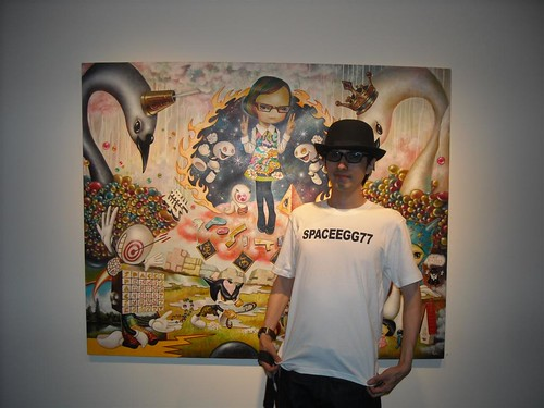 Yosuke Ueno - opening night of 'Negative Never Again' | by thinkspace_gallery