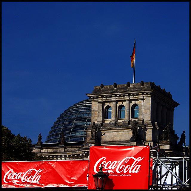 The German Parliament in Berlin