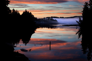 Sooke River Sunrise | by van der Valk Photography