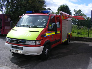(790) GMFRS - Greater Manchester Fire & Rescue Service - Iveco 65C17 - JDC - Water Rescue Unit - MX07GYZ | by Call the Cops 999
