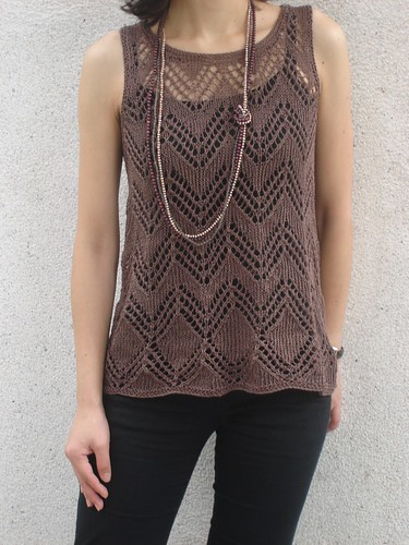Katia Lino Top - photo 1 | by Little Purl of the Orient