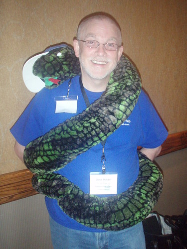 Steve Holden with PSF Snake | by thekirbster
