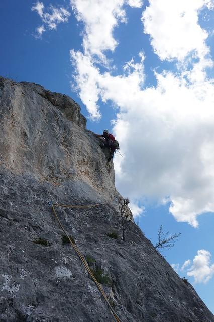 Hohe Wand Schlüsselerlebnis 265 m (7-)