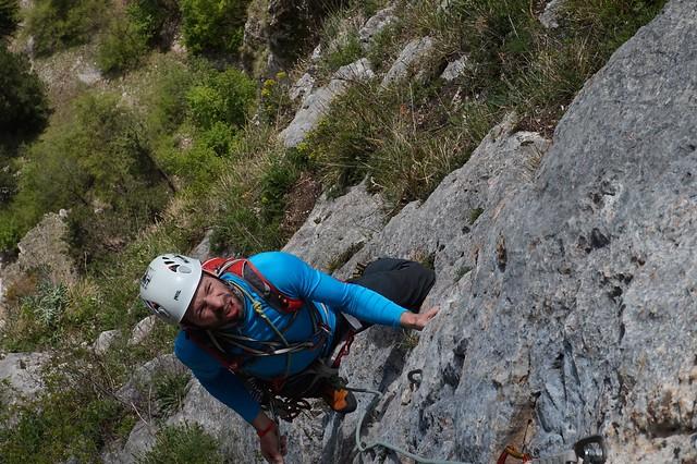 Hohe Wand Der Alte Wolf 185 m (7-); Sonnenhur 180 m (6+)