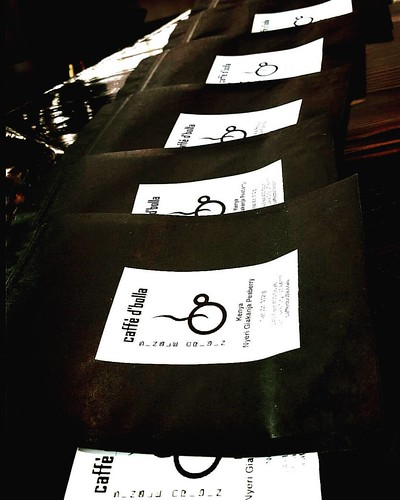 Night coffee roasting and bagging projects. More beans ready for you to pick up in the morning!