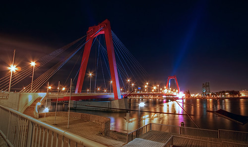 Willemsbrug Rotterdam | by DolliaSH