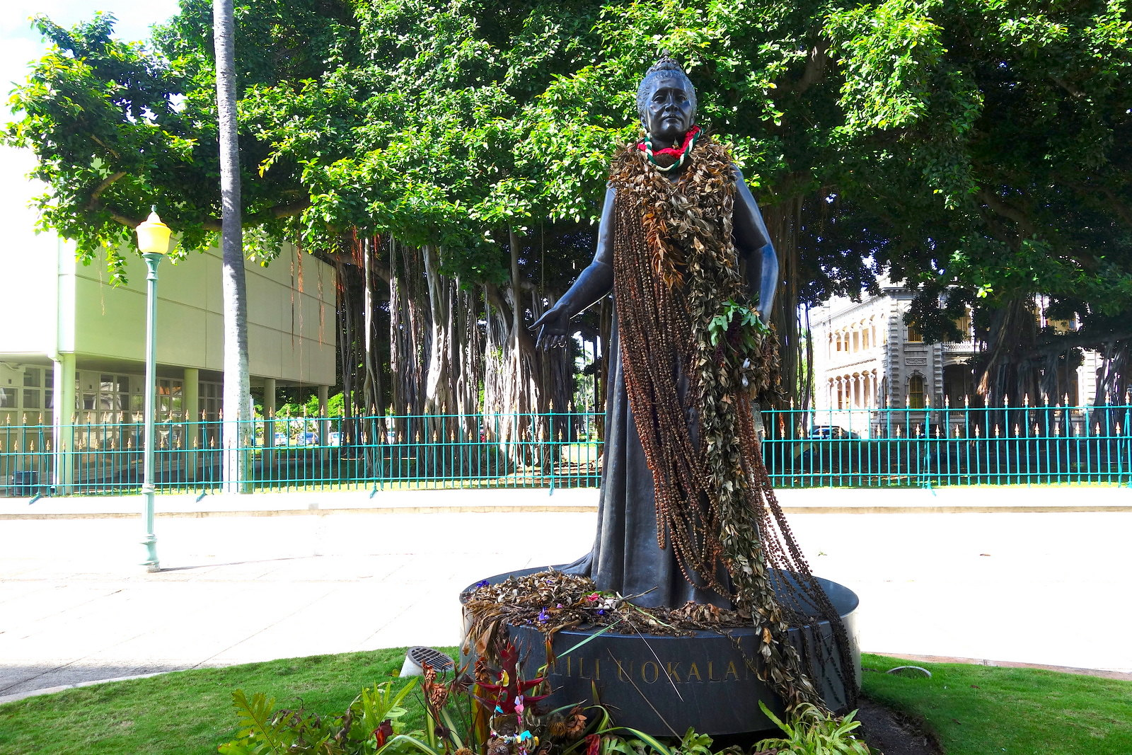 Queen Lili'uokalani, the last Hawaiian monarch. From Digging Deeper into Hawaiian History on the Hawai'i Monarchs Tour