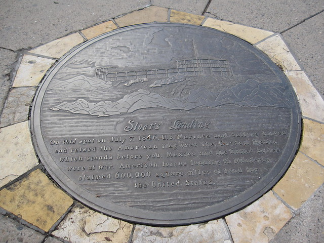 Sloat's Landing Plaque