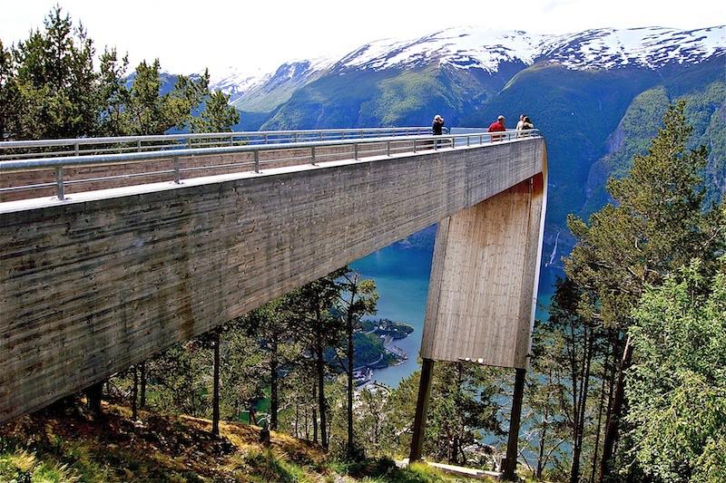 Stegastein - Lookout, Aurland, Norway