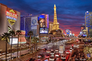 Las Vegas Strip in HDR | by Tim Shields BC