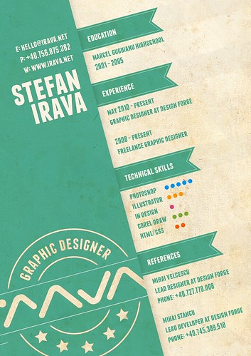My Resume | by Stefan Irava