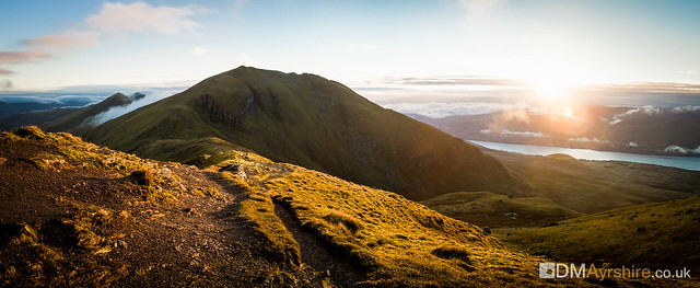Sunrise on Beinn Ghlas