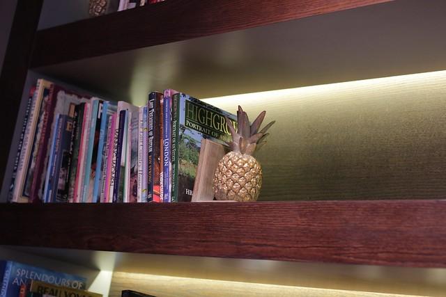 Virgin Money Lounge Sheffield - shelf