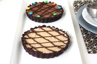 His and Hers Ice Cream Tarts | by Tracey's Culinary Adventures