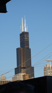 Willis Tower from Fulton Street Market | by Ford Art