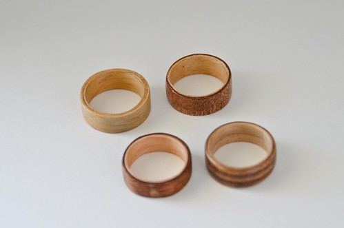 Finished Rings - Notice improving evenness of sides