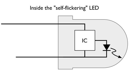 flicker_LED_IC | by oskay