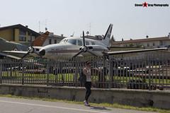 I-BUTY - 31P-32 - Private - Piper PA-31P-425 Pressurized Navajo - Gambini SRL Scrapyard, Cavalcaselle, Italy - 160624 - Steven Gray - IMG_4955