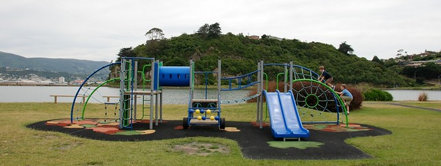Playgrounds around the world-- we should write a book on that...