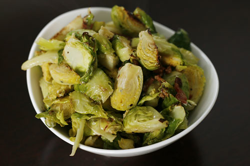 Bacon and Blue Cheese Brussels Sprouts | by Sarah :: Sarah's Cucina Bella