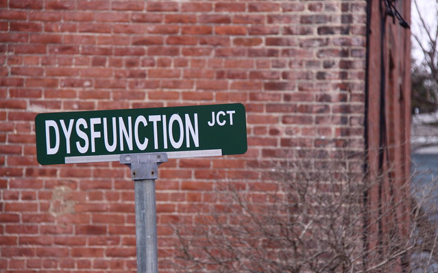 Dysfunction Junction Sign - Cold Spring, NY
