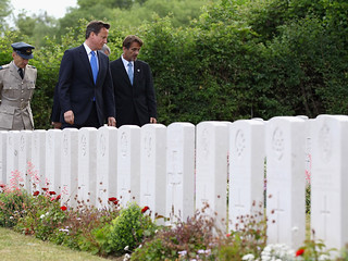 Prime Minister tours Tourgeville Military Cemetery | by The Prime Minister's Office