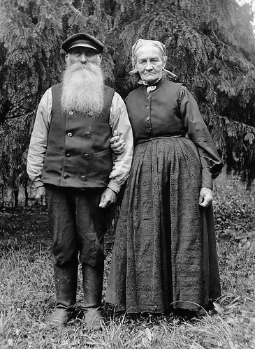 Mr and Mrs Fröding, Kummelnäs, Uppland, Sweden | by Swedish National Heritage Board